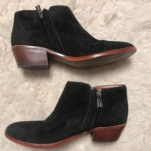 Sam Edelman Black Ankle Boots